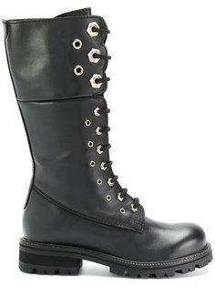 армейские ботинки Twin-Set