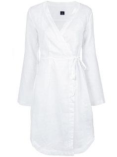 платье-рубашка с запахом Osklen