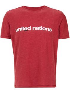 футболка с принтом United Nations Osklen