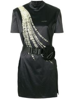 платье-мини с принтом Willow Hyein Seo