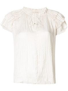блузка с V-образным вырезом Mara Ulla Johnson