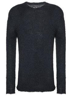 свитер свободного кроя Rick Owens