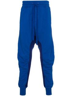 спортивные брюки с заниженным шаговым швом и манжетами  Haider Ackermann