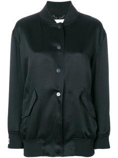 куртка-бомбер с рисунком с логотипом сзади Fendi