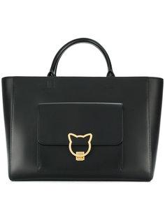 сумка-шоппер с замком Kat Karl Lagerfeld