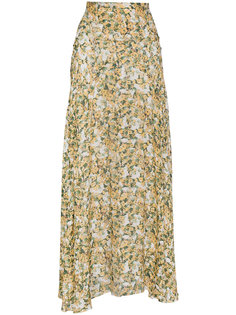 юбка-макси с цветочным принтом Isabel Marant