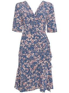 платье с цветочным принтом и V-образным вырезом  Isabel Marant