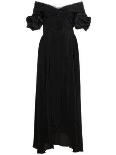 платье с открытыми плечами и вырезом Maria Felix Johanna Ortiz