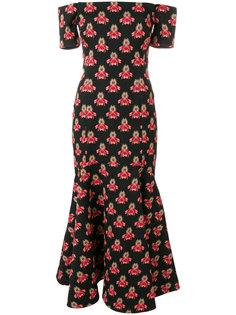 платье Jupiter со спущенными плечами Temperley London