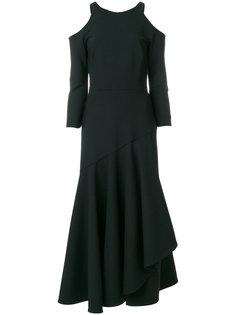 платье Mercury с оборками Temperley London