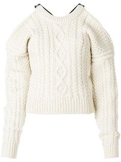 свитер с открытой спиной  Calvin Klein 205W39nyc