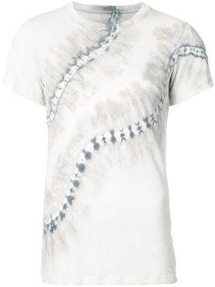 футболка с принтом тай-дай Raquel Allegra
