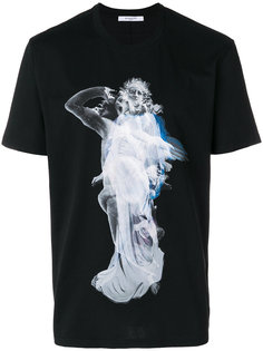 футболка с принтом ангела Givenchy
