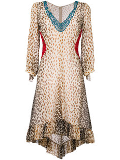 leopard print dress Marco De Vincenzo