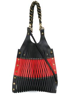 двухцветная сумка-тоут Le Baltard Sonia Rykiel