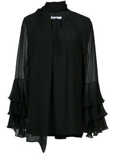 блузка с завязкой на шее  Prabal Gurung