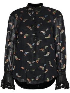 блузка с принтом пейсли  Chloé