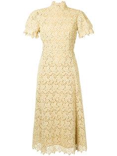 ажурное платье-миди  Macgraw