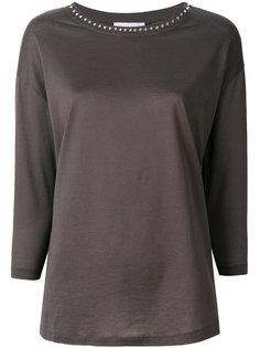 блузка с заклепками  Fabiana Filippi