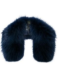 navy fur collar Mr & Mrs Italy