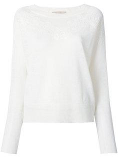 свитер с кружевной отделкой Vanessa Bruno