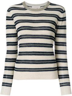 укороченный полосатый свитер  Vanessa Bruno