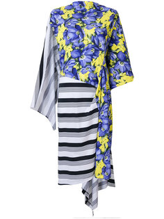 Bal Asymmetric Dress Balenciaga