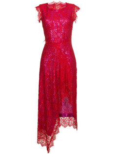 кружевное платье без рукавов с пайетками Georgie Preen By Thornton Bregazzi