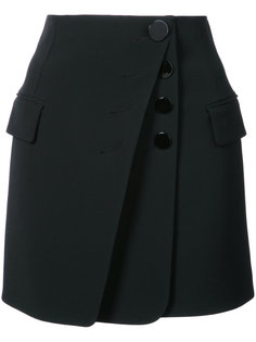 юбка мини с пуговицами Alexander Wang