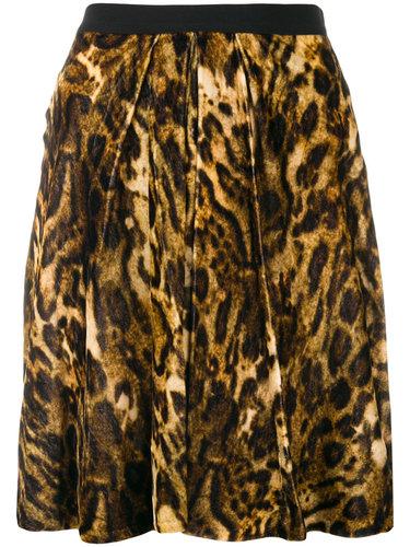 юбка 'Tanza' с леопардовым узором Isabel Marant