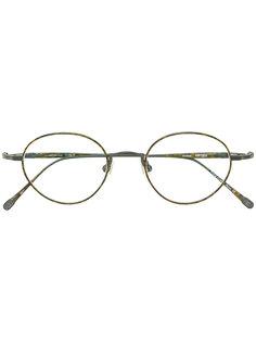 классические круглые солнцезащитные очки Matsuda