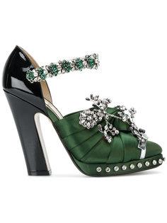туфли-лодочки с отделкой  Nº21
