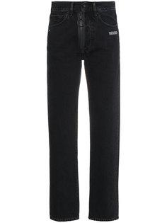 джинсы слим с молнией спереди  Off-White