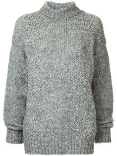 свитер кроя оверсайз с высоким воротом I Am Studio