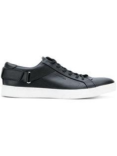 кроссовки с эластичными ремешками Calvin Klein