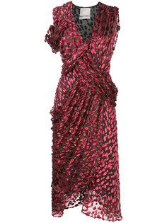 асимметричное платье с запахом Jason Wu