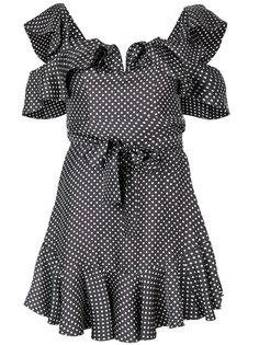 платье в горошек Zimmermann