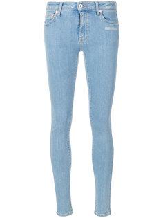 джинсы скинни пятикарманной модели  Off-White