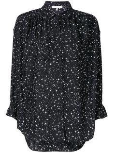 рубашка с о звездным принтом  Frame Denim