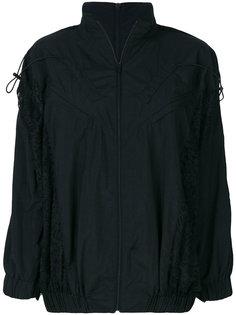 куртка-бомбер с кружевными панелями Almaz
