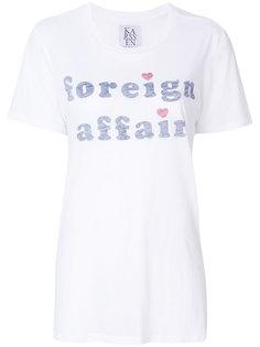 футболка Foreign Affair Zoe Karssen