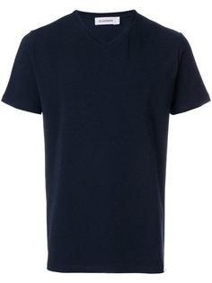 футболка с V-образной горловиной Jil Sander