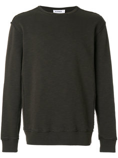 свитер с круглым вырезом с открытыми швами Jil Sander