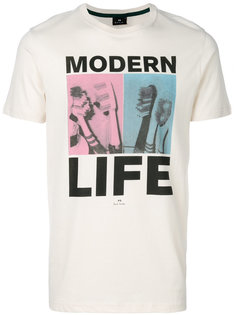 футболка с принтом Modern Life Ps By Paul Smith