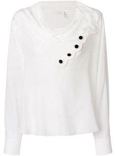 блузка с фестонами Chloé