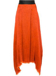фактурная юбка асимметричного кроя Maticevski
