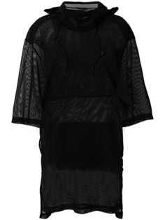 прозрачное платье-футболка  Y-3