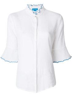 рубашка с оборками на рукавах Antin Mih Jeans