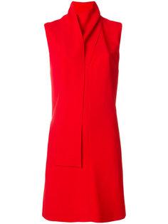 платье с драпированным воротником Stella McCartney