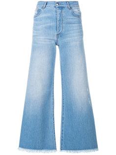 укороченные расклешенные джинсы Each X Other
